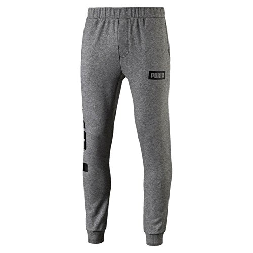 Puma Rebel Sweat Pants Tr Hose Medium Gray Heather