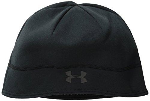 Under Armour Damen Sportswear Hut UA Elements Fleece Beanie Black, One Size Fleece Beanie