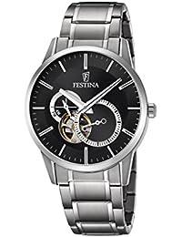 Festina Herren-Armbanduhr Analog Automatik Edelstahl F6845/4