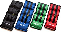 Sports Trend 24 | Weight cuffs 0,5-8,0kg in set strong velcro | for strength and endurance exercises (2,5kg)