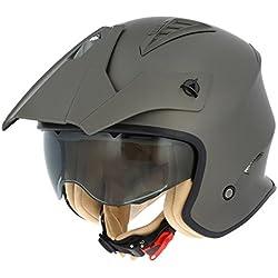 Astone Helmets Casco Moto Jet Minicross Minicross-Whl
