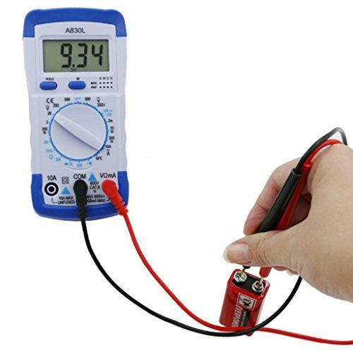 Preisvergleich Produktbild MagiDeal Multimeter Digital multimeter Voltmeter Amperemeter Ohmmeter Messgerät für Spannug Strom Widerstand Digitales AC DC Kapazität Frequenz Kapazitanz