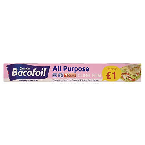 Bacofoil All Purpose Cling Film 300mm x 25m