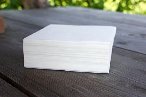 EUROHUNT Papier Papierzwischenlagen, 560950 (Hamburger Patty-papier)