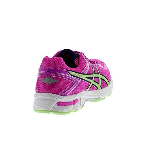 Asics - Gt-1000 4 Gs, Scarpe da corsa Unisex – Bambini Rosa (Pink Glow/Pistachio/Indigo Blu 3587)