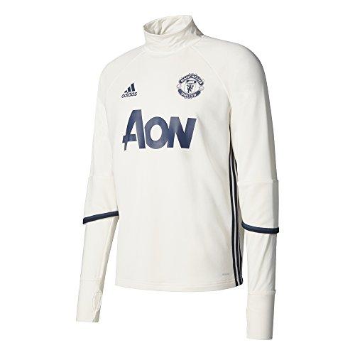 adidas MUFC TRG Top Sweatshirt Manchester United FC für Herren, Mehrfarbig (Blatiz/Maruni/Azumin), S - Manchester Pullover United