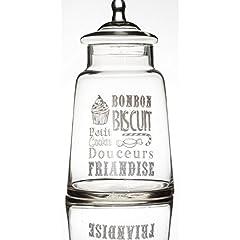 Idea Regalo - Porta bon-bon fantasia con testo di colore bianco