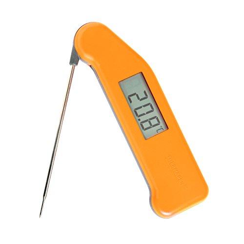 Classic Superfast, Thermapen 3,Profi-Thermometer für Lebensmittel, Sorbetorange