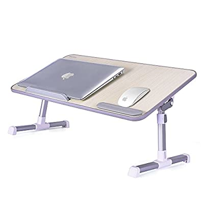 Laptop Table MAPUX Multifunctional Height and Angle Adjustable NoteBook Stand Portable Tablet Desk Foldable Tray for Sofa, Bed, Terrace, Balcony, Garden etc. produced by MAPUX - quick delivery from UK.