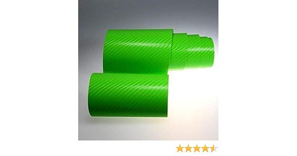 Tiptopcarbon 6 58 M 4d Carbon Folie Grün Blasenfrei 0 3m X 1 52m Mit Luftkanäle Autofolie Selbstklebend Küche Haushalt