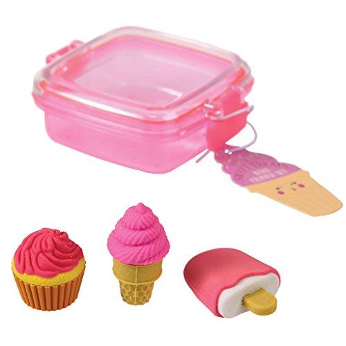 Sweet Treats Mini Radiergummi-Set London-eis