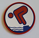 Erlebe Wasser Bronze Jugendschwimmer PVC-Abzeichen Rund Neuheit!