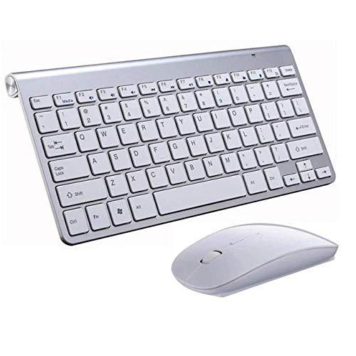 Prima05Sally 2,4 GHz ultradünne drahtlose Tastatur und Maus super langlebig, sehr stilvoll - Stilvolle Drahtlose Tastatur
