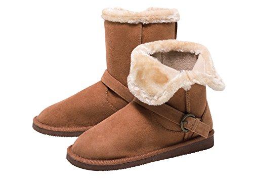 Zapato Mädchen Stiefel Bootie warm gefüttert Boots Damen Winterzeit Gr. 32-36 (34)