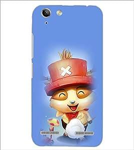 Printdhaba Smiling Kitty D-2902 Back Case Cover For Lenovo Vibe K5