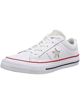 Converse One Star Ox Gym Red/White, Zapatillas Unisex Niños