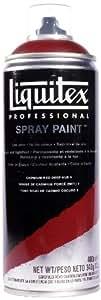 Liquitex Professional Peinture Acrylique  Aérosol 400 ml Rouge de Cadmium Foncé Imitation