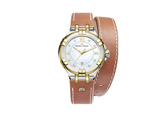 Maurice Lacroix Aikon Ladies Quartz Watch, 35mm, AI1006-PVY11-171-1