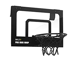 SKLZ Europe GmbH Pro Mini Hoop Mirco Basketballkorb, Mehrfarbig, One Size
