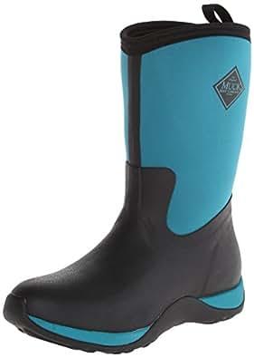 Muck Boots Arctic Weekend, Bottes Femme - Noir (black/harbor Blue), 37 EU