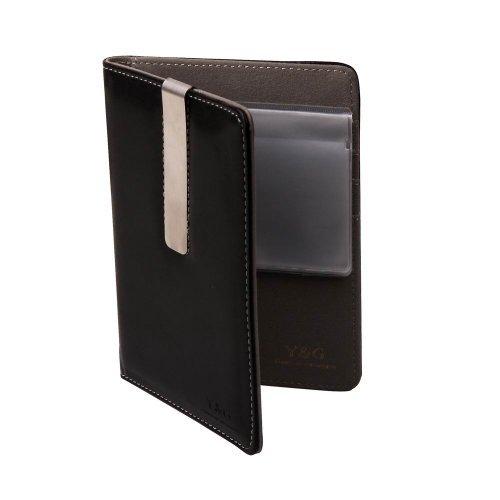 PW1005 Accessori Nero Grigio perfetto idea regalo per il capo del passaporto di corsa del (Grigio Suede Piattaforma)