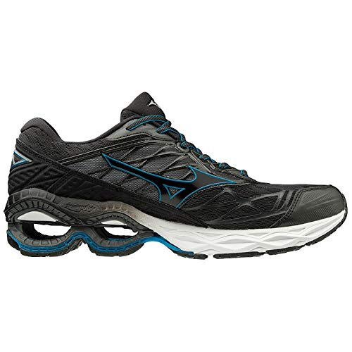 Mizuno Scarpa Running Wave Creation 20 Uomo (42.5 EU, 09 - Black/Black/Blue)