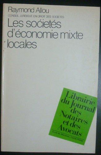 Les societes d'économie mixte locales