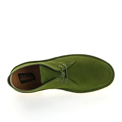 Boots Leaf Clarks Desert Suede Grün Herren 0wn4EqA7