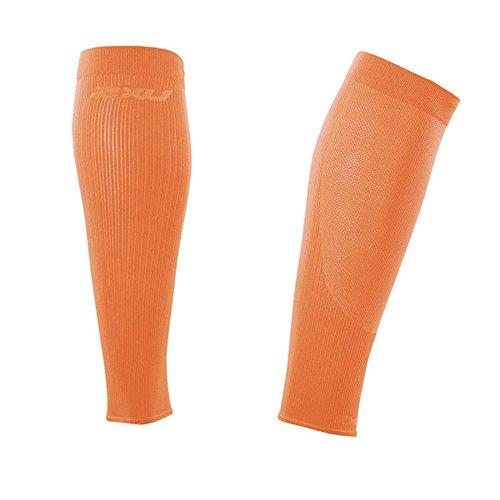 2x U Femme Collant thermique à manches longues Compression pour Orange