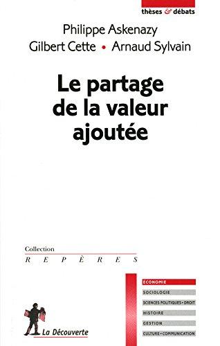LE PARTAGE DE LA VALEUR AJOUTE