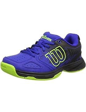 Wilson Kaos Composite Junior, Zapatillas de Tenis Unisex Niños