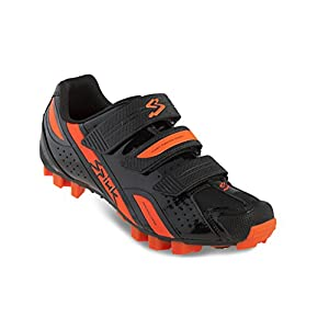 Spiuk Rocca MTB - Zapatillas unisex, color negro / naranja, talla 49