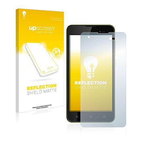 upscreen Reflection Shield Matt Bildschirmschutzfolie Wiko Sunny 2 Plus Schutzfolie Folie - Entspiegelt, Anti-Fingerprint