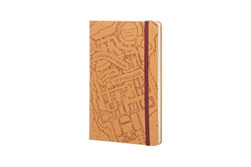 Image of Moleskine Harry Potter Limited Edition Notebook Large Ruled Hard - Marauder's Map