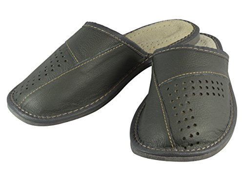 aveego , Chaussons pour homme Gris