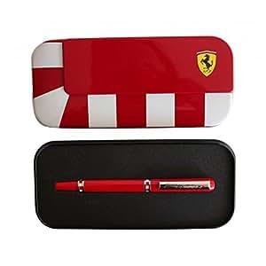 Ferrari - Coffret Stylo Roller Ferrari - ROUGE