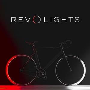 revolights Eclipse + Bluetooth aktiviert Fahrrad Beleuchtung System, 700C/27
