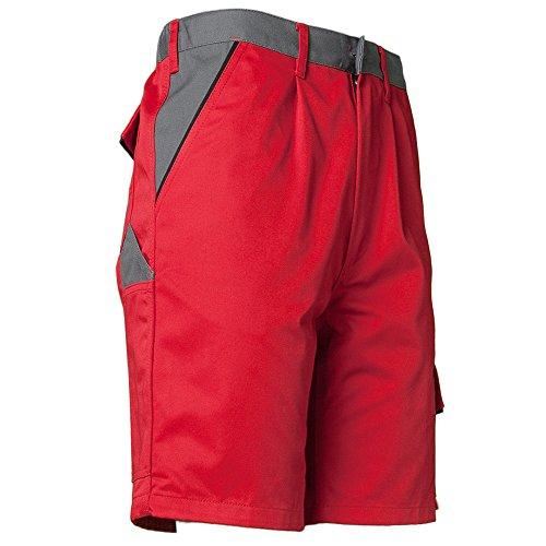 Planam Highline Shorts schiefer/schwarz rot/schiefer/schwarz