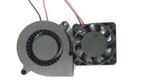 Hictop 3d estrusore stampante ventola di raffreddamento ventola dc 12 v 4010 5015 tifosi