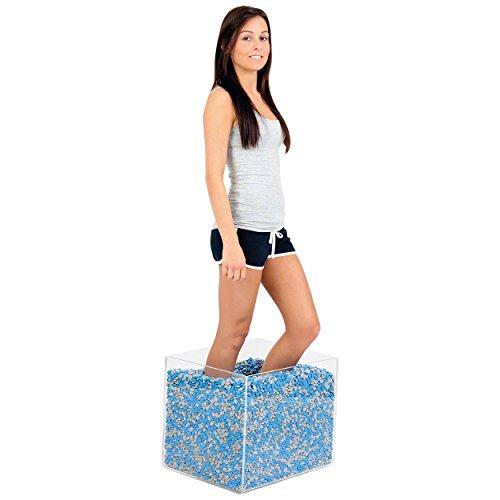 Preisvergleich Produktbild Thera Beans Therapie-Bohnen 30 kg inkl Acrylbox Bewegungstrainer Reha Neurologie