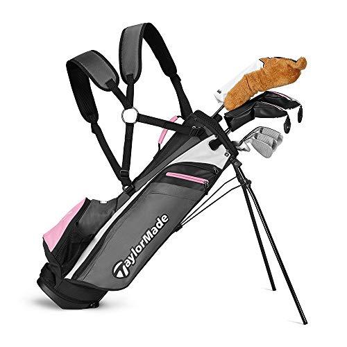 TaylorMade Rory Junior Golf Set K50 (8 PC Set, Right Hand, Girls Flex)