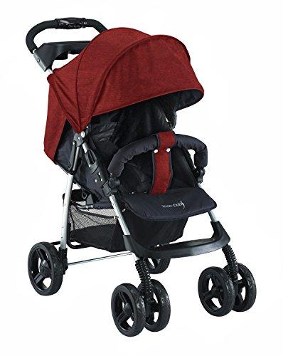 knorr-baby-passeggino-v-easy-fold-happy-colour-rosso-nero