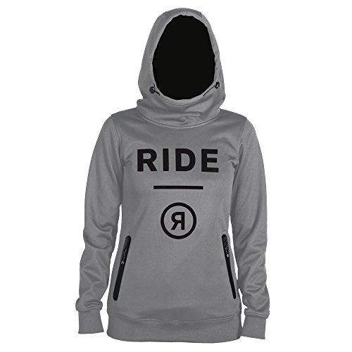 Ride Snowboard Oberbekleidung Pinnacle Softshell Jacke, Damen, Gunmetal Heather