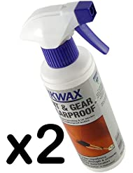 300 ML NIKWAX TENT AND GEAR SOLAR PROOF SPRAY BOTTLE - SPRAY ON WATERPROOFING AND UV BLOCKER - IDEAL FOR ALL WEATHERPROOF TEXTILES INCLUDING TENTS, AWNINGS, MARQUEES, RUCKSACKS, PANNIERS AND CAMERA BAGS - IT HELPS TO KEEP ITEM IN PERFECT WATER-REPELLENT CONDITION AND PROTECT AGAINST UV DEGRADATION