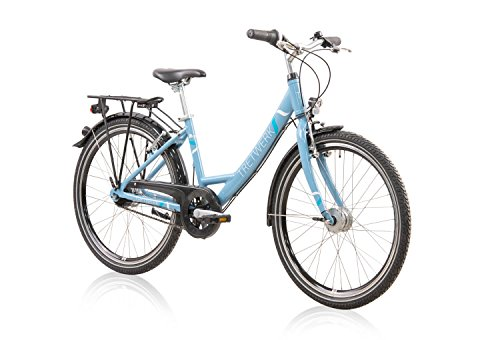 tretwerk DIREKT gute Räder Magnolia 24 Zoll Mädchenrad, Jugend-Fahrrad 7 Gang Nabenschaltung -
