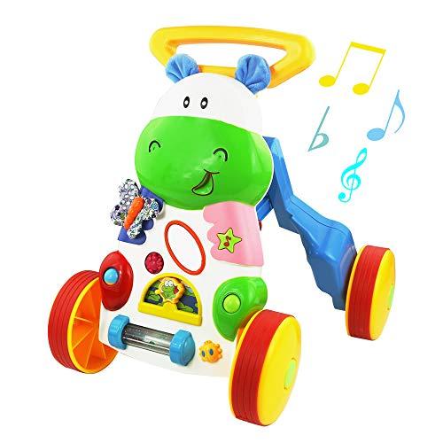 Symiu Juguetes Bebes Multifuncional Andadores Juguetes de Andador con Música Educativos Regalos Originales...
