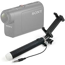 DURAGADGET Palo Selfie (Selfie-Stick) para Cámaras deportivas o de acción Sony HDR-AS50 / Kaiser Baas X150 / Eken H9