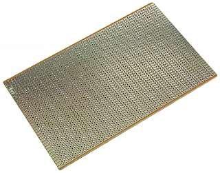 Preisvergleich Produktbild Experimentierplatine KEMO. 2.54er-Streifenraster. 100x160mm
