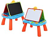 2 In 1 Art Centre Blackboard & Whiteboard Kids Activity Play Desk Drawing Easel