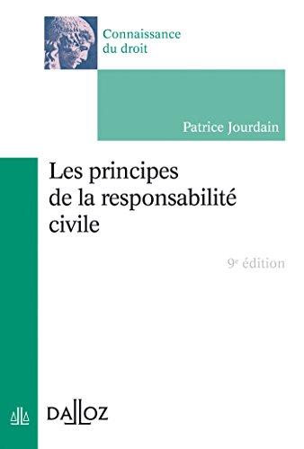 Les principes de la responsabilité civile (Connaissance du droit)